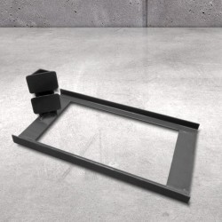 Floor stand for sign posts